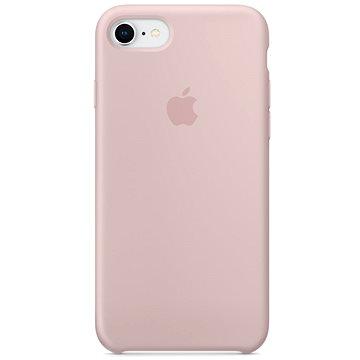 iPhone 8/7 Silikonový kryt pískově růžový (MQGQ2ZM/A)