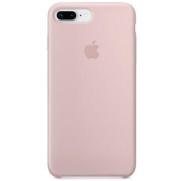 iPhone 8 Plus 7 Plus Silikonový kryt pískově růžový (MQH22ZM A) 29a56083fe6