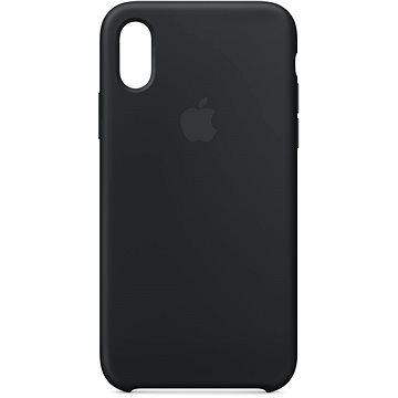iPhone XS Silikonový kryt černý (MRW72ZM/A)
