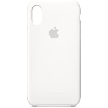 iPhone XS Silikonový kryt bílý (MRW82ZM/A)
