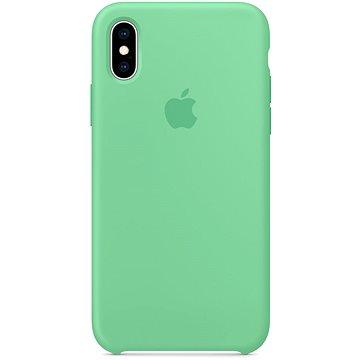 iPhone XS Silikonový kryt mátový (MVF52ZM/A)