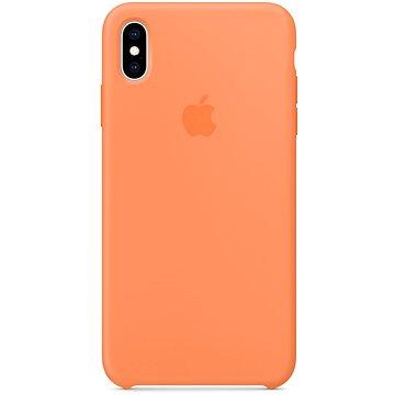 iPhone XS Max Silikonový kryt papájový (MVF72ZM/A)