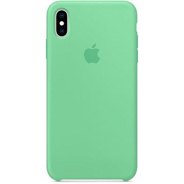 iPhone XS Max Silikonový kryt mátový (MVF82ZM/A)