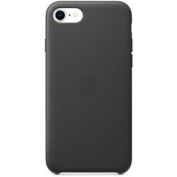 Apple iPhone SE 2020 kožený kryt černý (MXYM2ZM/A)