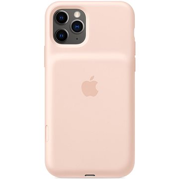 Apple Smart Battery Case na iPhone 11 Pro – pískově růžový (mwvn2zy/a)