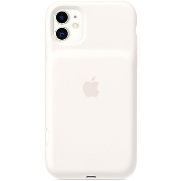 Apple Smart Battery Case na iPhone 11 – bílý (mwvj2zy/a)