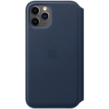 Apple iPhone 11 Pro kožené puzdro Folio hlbinná modrá(MY1L2ZM/A)