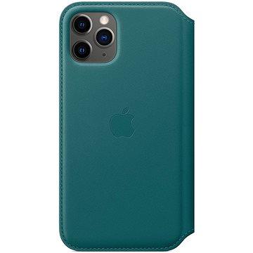 Apple iPhone 11 Pro kožené puzdro Folio ľadovo tyrkysové(MY1M2ZM/A)