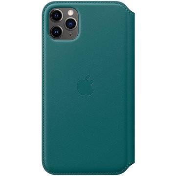Apple iPhone 11 Pro Max kožené puzdro Folio ľadovo tyrkysové(MY1Q2ZM/A)