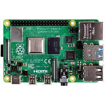 Raspberry Pi 4 Model B - 4GB RAM (Raspberry-PI-4-4GB)
