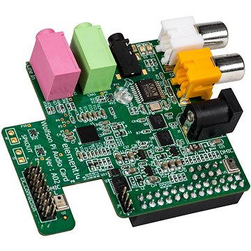 WOLFSON Audio card pro RASPBERRY Pi (RaspberryAudio)