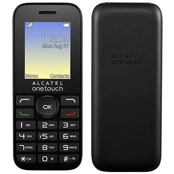 ALCATEL ONETOUCH 1016G Volcano Black (1016G-3AALCZ1)
