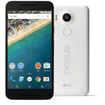 LG Nexus 5x White 16GB (LGH791.ACZEWH)