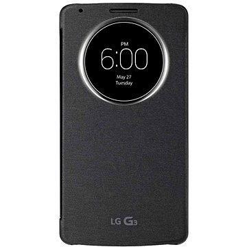 LG Quick Circle pouzdro Black CCF-345G pro LG G3 (CCF-345G.AGEUTB)