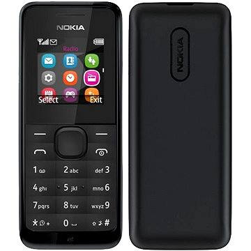 Nokia 105 černá Dual SIM (A00025877)