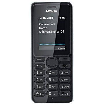 Nokia 108 bílá Dual SIM (A00015063)