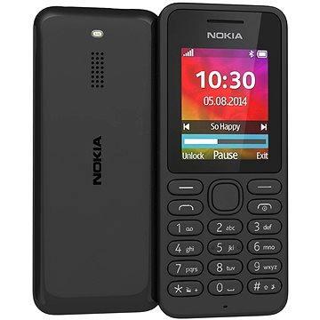 Nokia 130 černá Dual SIM (A00021157)