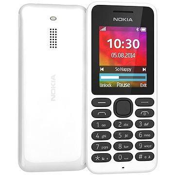 Nokia 130 bílá Dual SIM (A00021158)