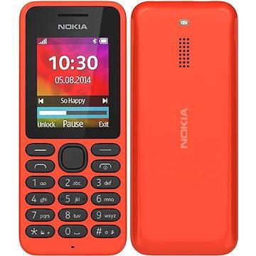 Nokia 130 červená Dual SIM (A00022156)