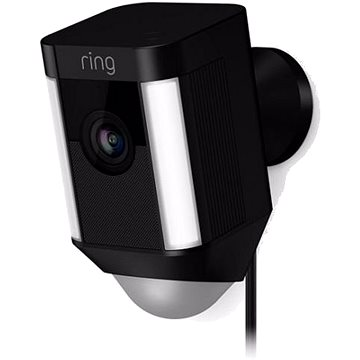 Ring Spotlight Cam Wired Black (8SH1P7-BEU0)