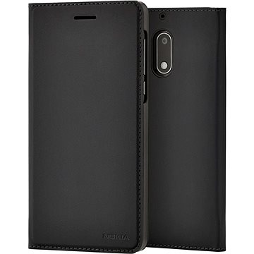 Nokia Slim Flip Case CP-302 for Nokia 5 Black (ZF4 Max ZC554KL)