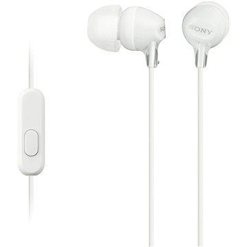 Sony MDR-EX15AP bílá (MDREX15APW.CE7)
