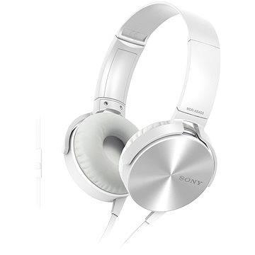 Sony MDR-XB450AP bílá (MDRXB450APW.CE7)