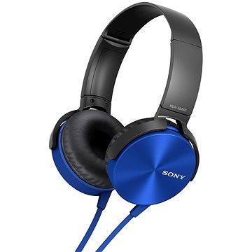 Sony MDR-XB450AP modrá (MDRXB450APL.CE7)