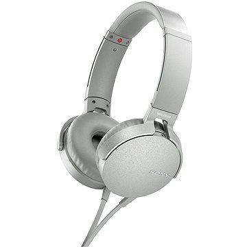 Sony MDR-XB550AP bílá (MDRXB550APW.CE7)
