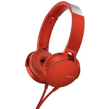 Sony MDR-XB550AP červená (MDRXB550APR.CE7)