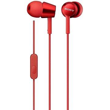 Sony MDR-EX155AP, červená (MDREX155APR.AE)