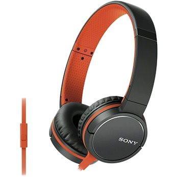 Sony MDR-ZX660APD, oranžová (MDRZX660APD.CE7)