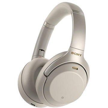Sony Hi-Res WH-1000XM3, platinově stříbrná (WH1000XM3S.CE7)