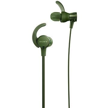 Sony MDR-XB510AS zelená (MDRXB510ASG.CE7) + ZDARMA Pouzdro na mobilní telefon Sportovní obal na iPhone 6