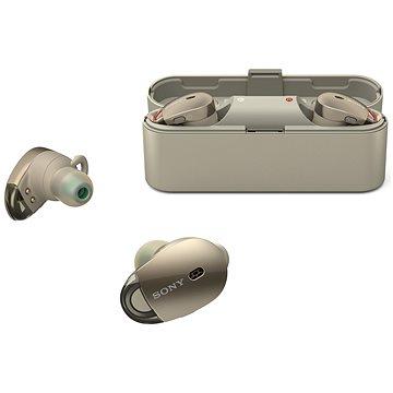 Sony WF-1000X béžová (WF1000XN.CE7)