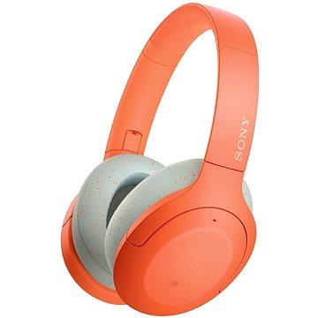 Sony Hi-Res WH-H910N, oranžovo-šedá (WHH910ND.CE7)