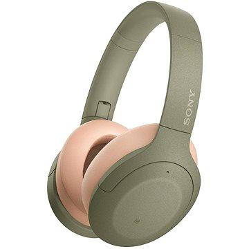Sony Hi-Res WH-H910N, zeleno-tělová (WHH910NG.CE7)