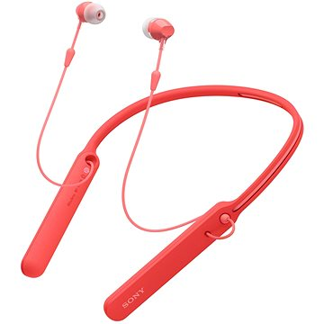 Sony WI-C400 červená (WIC400R.CE7)