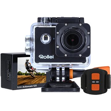 Rollei ActionCam 525 (40310) + ZDARMA Brašna Rollei Actioncam Case oranžová