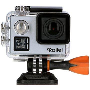 Rollei ActionCam 530 stříbrná + Rollei cestovní stativ