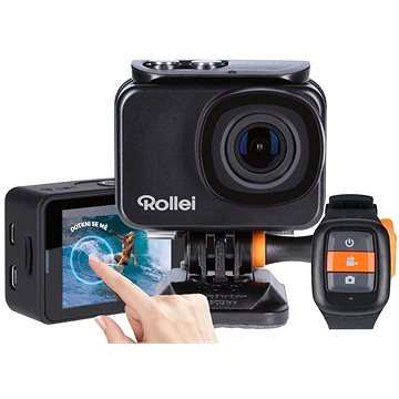 Rollei ActionCam 550 Touch černá + Rollei cestovní stativ