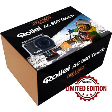 Rollei ActionCam 560 Touch Like A Boss Edition (AC560/Likeaboss)