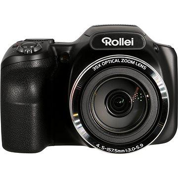 Rollei Powerflex 350 černý (FOTR4000) + ZDARMA Čisticí sada Rollei cestovní čistící sada