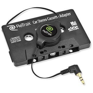 RETRAK audio stereo kazetový adaptér 1.2m (ETCASSETTEB)