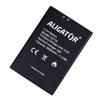 ALIGATOR S5710 Duo / Senior, Li-Ion (AS5710BAL)