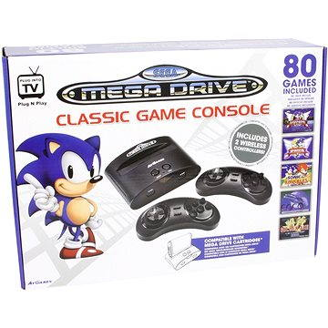 SEGA Wireless Classic Retro Games Console - 25th Sonic Anniversary Edition (FG-SE42-CON-EFIGS)