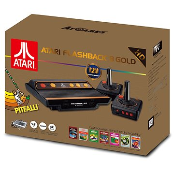 Retro konzole HD Atari Flashback 8 gold 2017 (0857847003820)