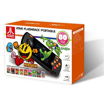 Retro konzole Atari Flashback Portable - 80 GAMES - 2018 (0818858029506 / AP3280)