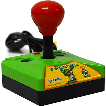 Retro konzole Frogger - Plug and Play Decorated Joystick (840172056418)