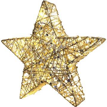 RETLUX RXL 326 hvězda třpyt. 20 LED 30cm (RETLUX RXL 326)